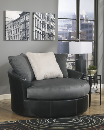Signature by AshleyOversized Swivel Accent Chair