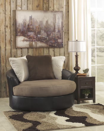 Signature Design by Ashley®MasoliOversized Swivel Accent Chair