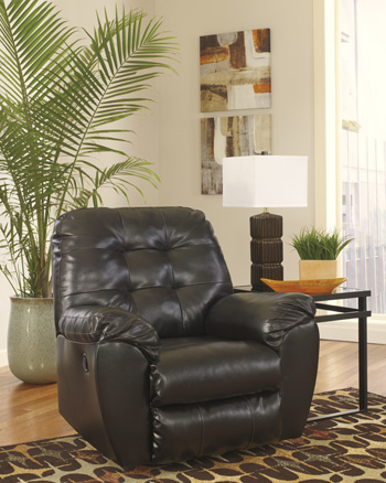 Signature Design by Ashley®Alliston DuraBlend®Rocker Recliner