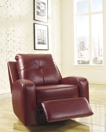 Signature Design by Ashley®Mannix DuraBlend®Swivel Glider Recliner