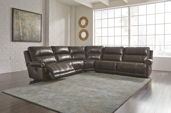 Signature Design by AshleyDak DuraBlend®Right Arm Facing Zero Wall Power Recliner