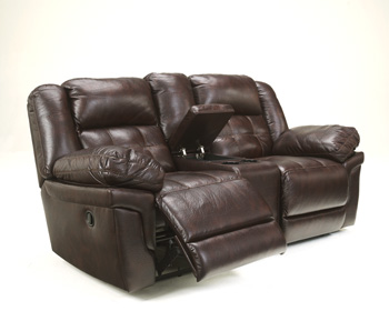 Signature by AshleyRandonDouble Reclining Power Loveseat with Console
