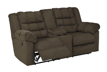 Signature by AshleyMortDouble Reclining Loveseat with Console