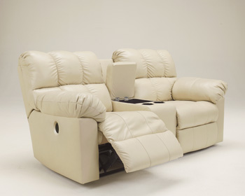 Signature by AshleyDouble Reclining Power Loveseat with Console
