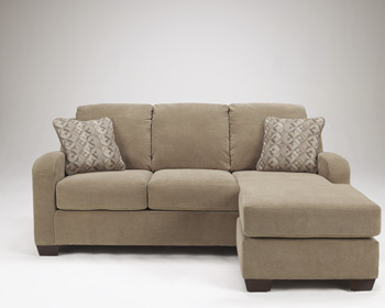 Circa Taupe Chaise Queen Sleeper Furniture Table Styles