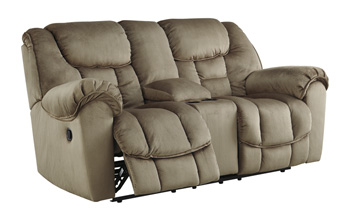 Signature Design by AshleyJodocaGlider REC Loveseat with Console