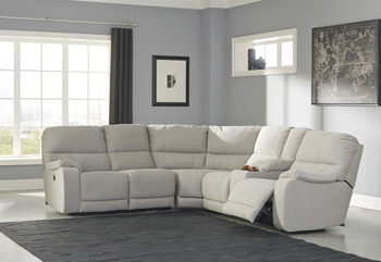 Signature Design by AshleyLeft Arm Facing Reclining Power Loveseat