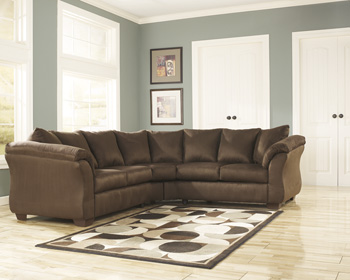 Signature Design by AshleyD Left Arm Facing Loveseat