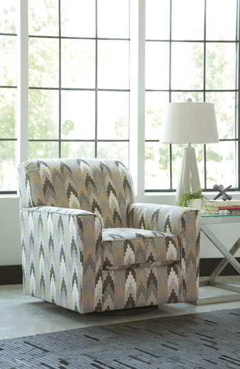 Signature by AshleyBraxlinSwivel Accent Chair
