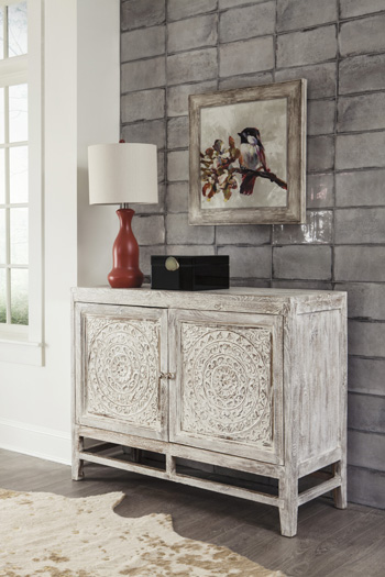 Signature by AshleyFossil RidgeDoor Accent Cabinet