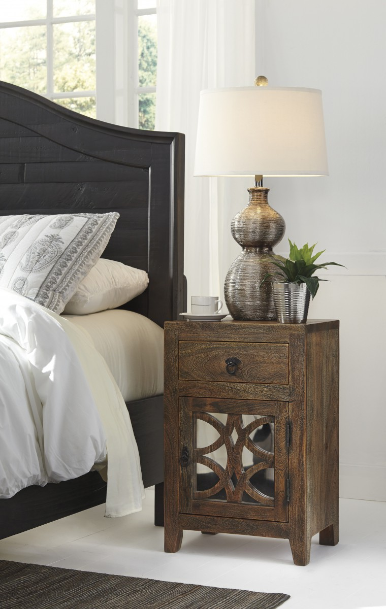 B013 692 signature by ashley charlowe night stand multi for Multi night stand