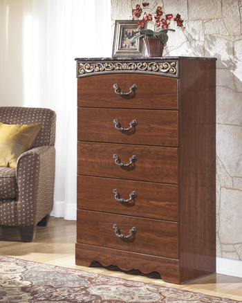 Signature Design by Ashley®Fairbrooks EstateFive Drawer Chest
