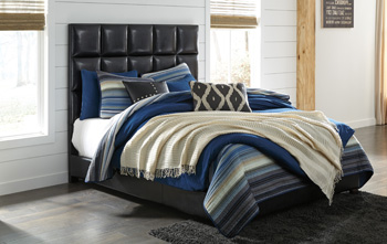 Signature Design by Ashley®Contemporary Upholstered Queen Upholstered Bed