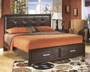 Signature by AshleyKing Panel Storage Footboard