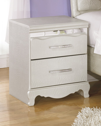 Signature by AshleyZarollinaTwo Drawer Night Stand