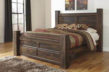 Signature by AshleyQueen Poster Storage Footboard