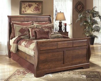 Signature by AshleyTimberlineQueen Sleigh Headboard