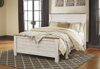 Signature Design by Ashley®WillowtonQueen Panel Rails