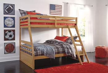 Signature Design by Ashley®HallytownTwin/Full Bunk Bed Panels