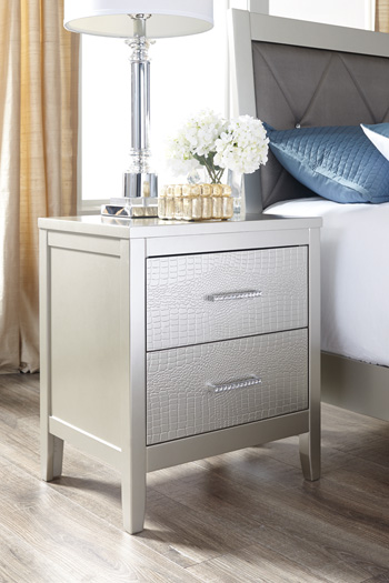 Signature Design by AshleyOlivetTwo Drawer Night Stand