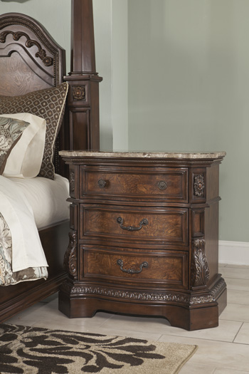 Millennium by AshleyLedelleThree Drawer Night Stand
