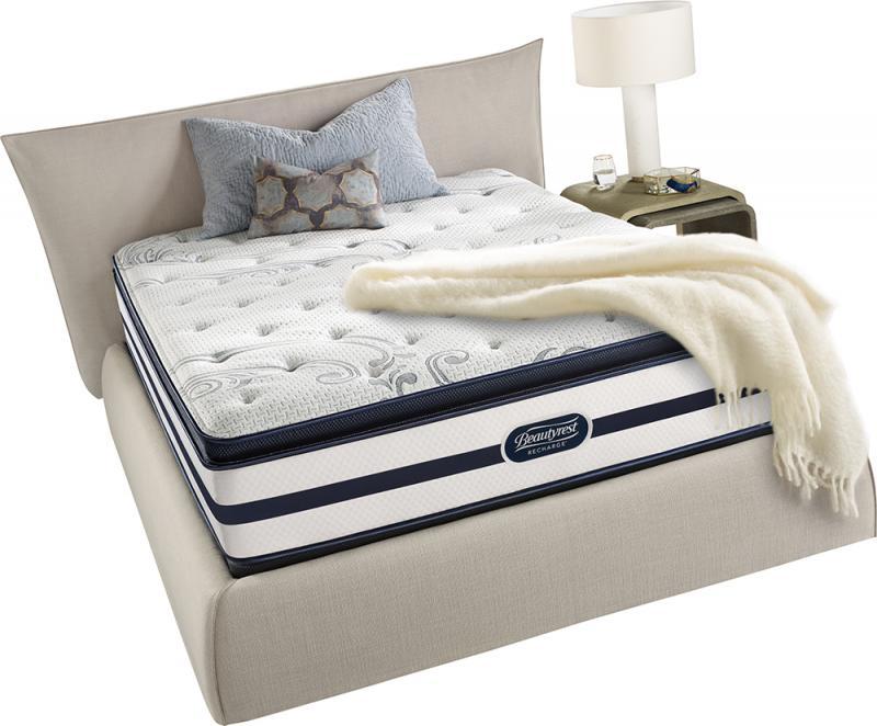 700360675 1050 Beautyrest Weatherstone Pillowtop Plush Innerspring Mattress Queen Standard