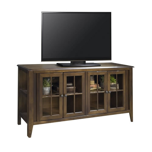 "LegendsBrownstone 63"" TV Console"