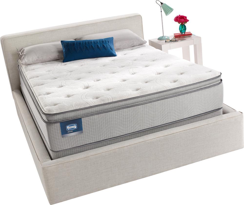 700360005 1050 Beautyrest Ruth Pillowtop Luxury Firm Innerspring Mattress Queen Standard Tv
