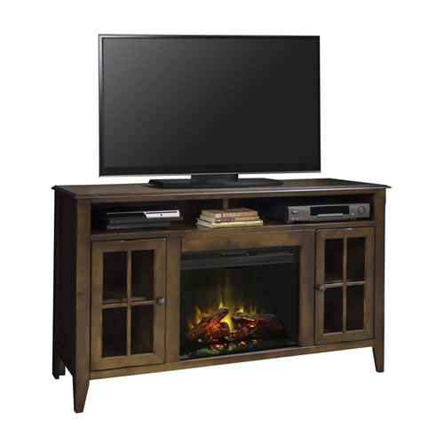 "LegendsBrownstone 60"" Fireplace Console"