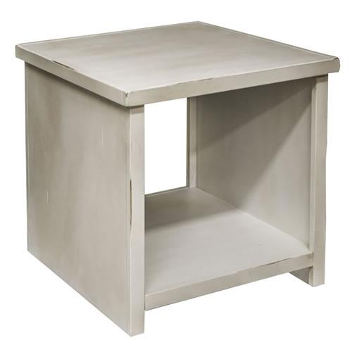 LegendsCalistoga White End Table