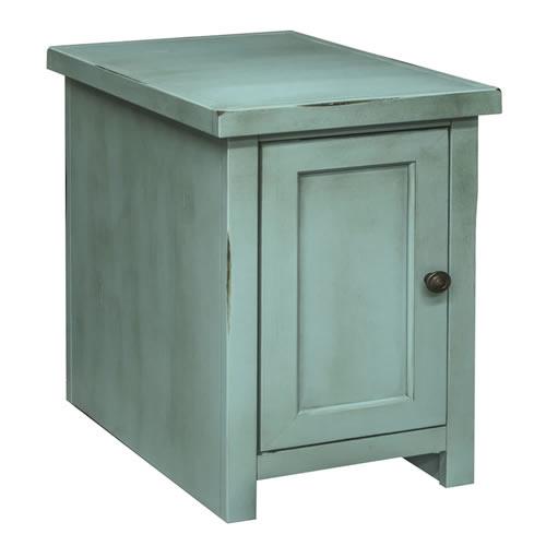 LegendsCalistoga Blue Chair Table w/Door