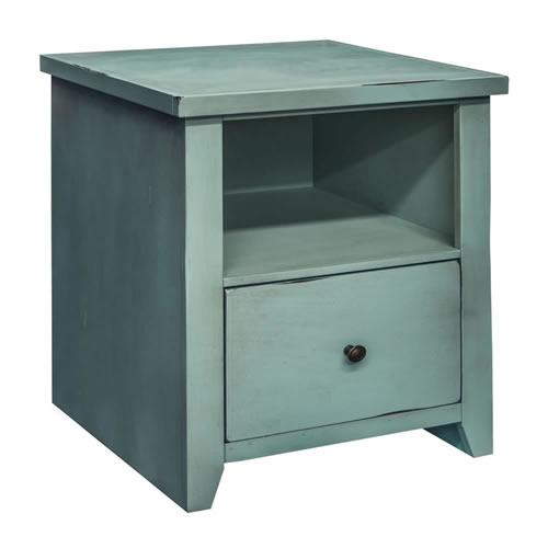 LegendsCalistoga Blue File Cabinet