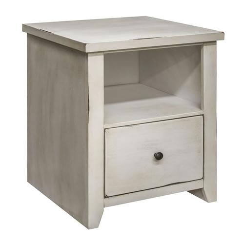 LegendsCalistoga White File Cabinet