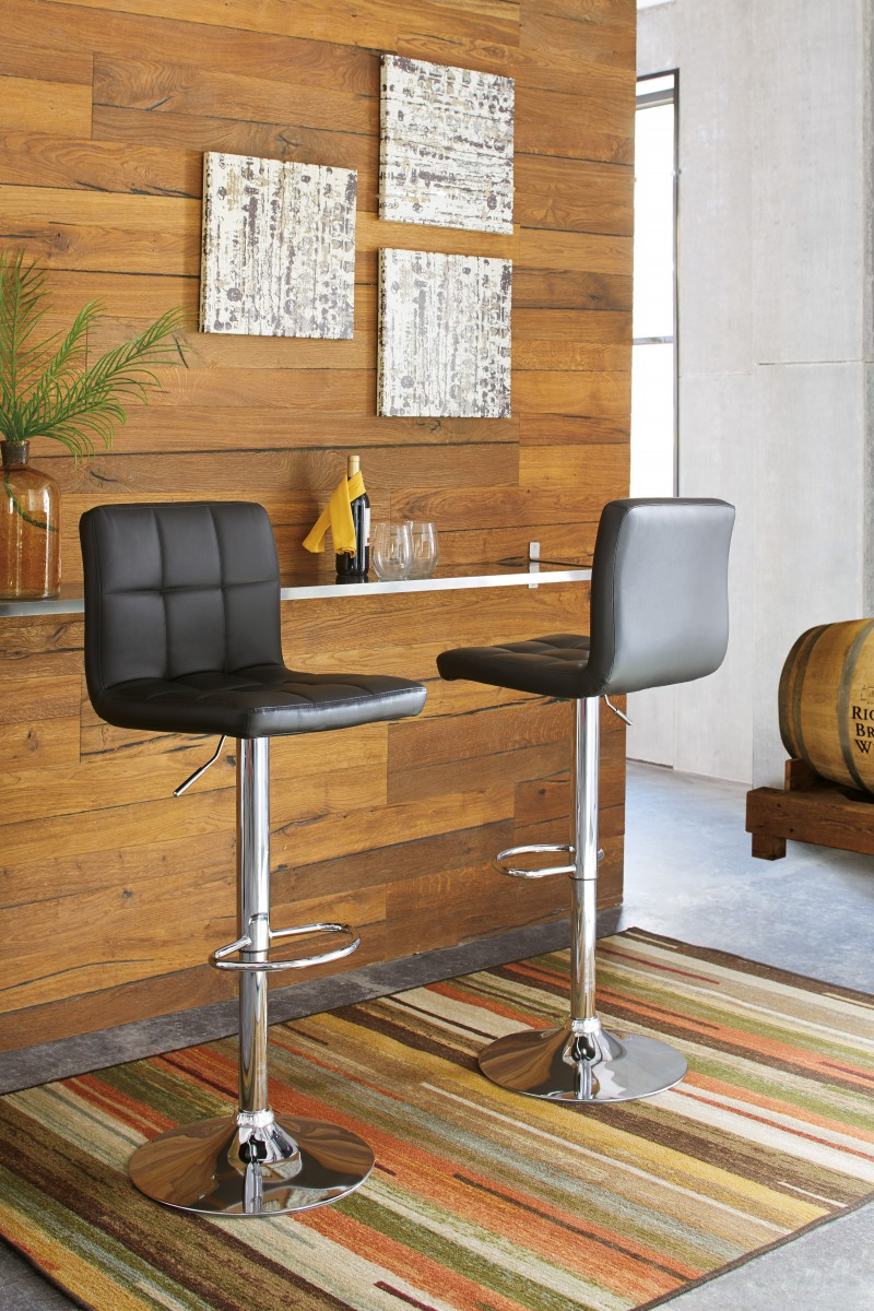 D120 130 Signature By Ashley Adjustable Height Barstoo