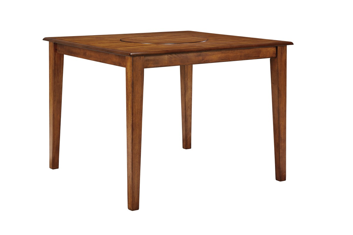 D199 13 Signature By Ashley Berringer Square Drm Counter Table Rustic Brown Charlotte