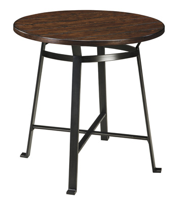Signature by AshleyChallimanRound Dining Room Bar Table