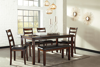 Signature by AshleyCoviarDining Room Table Set (6/CN)