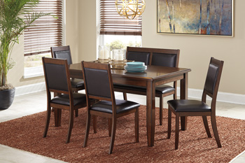 Signature Design by Ashley®MeredyDining Room Table Set (6/CN)