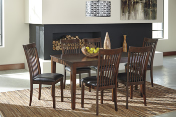 Signature Design by Ashley®MallentonDining Room Table Set (7/CN)
