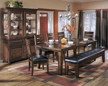 Signature Design by Ashley®LarchmontRECT Dining Room EXT Table