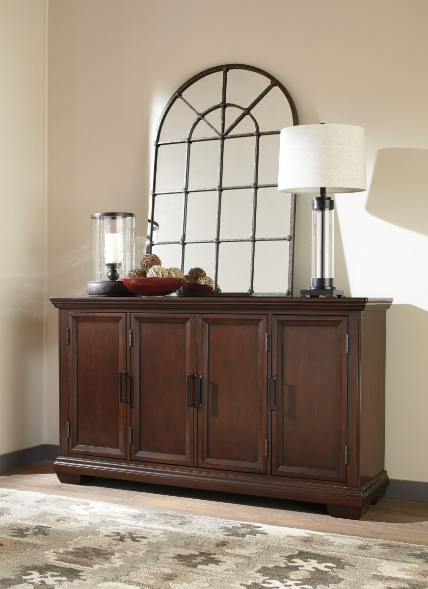 d471 60 signature by ashley shadyn dining room server brown signature by ashleyshadyndining room server