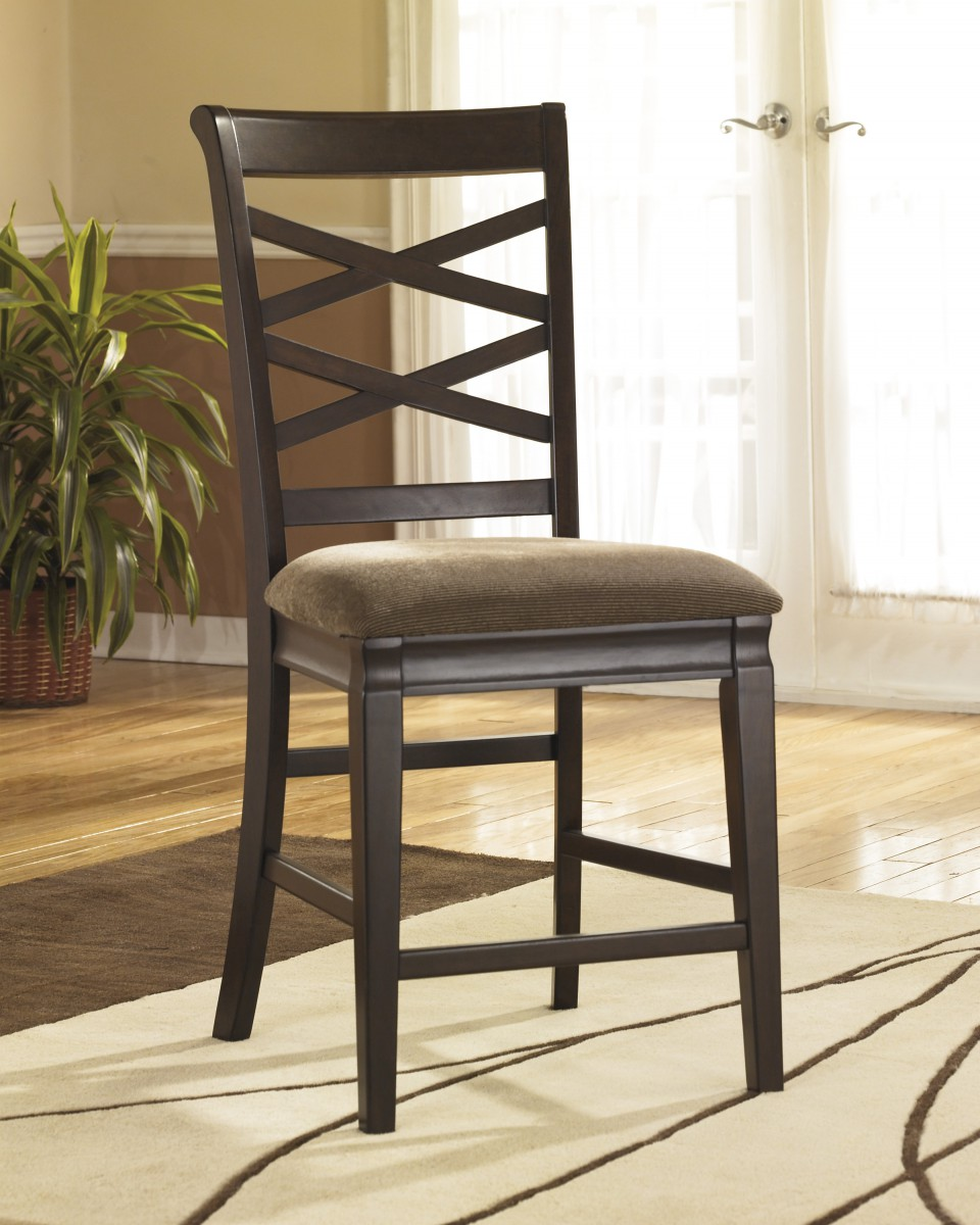 Hayley Dining Room Set: D480-124 Signature By Ashley Hayley Upholstered Barstool