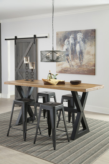 Signature Design by AshleyGloscoRECT Dining Room Counter Table