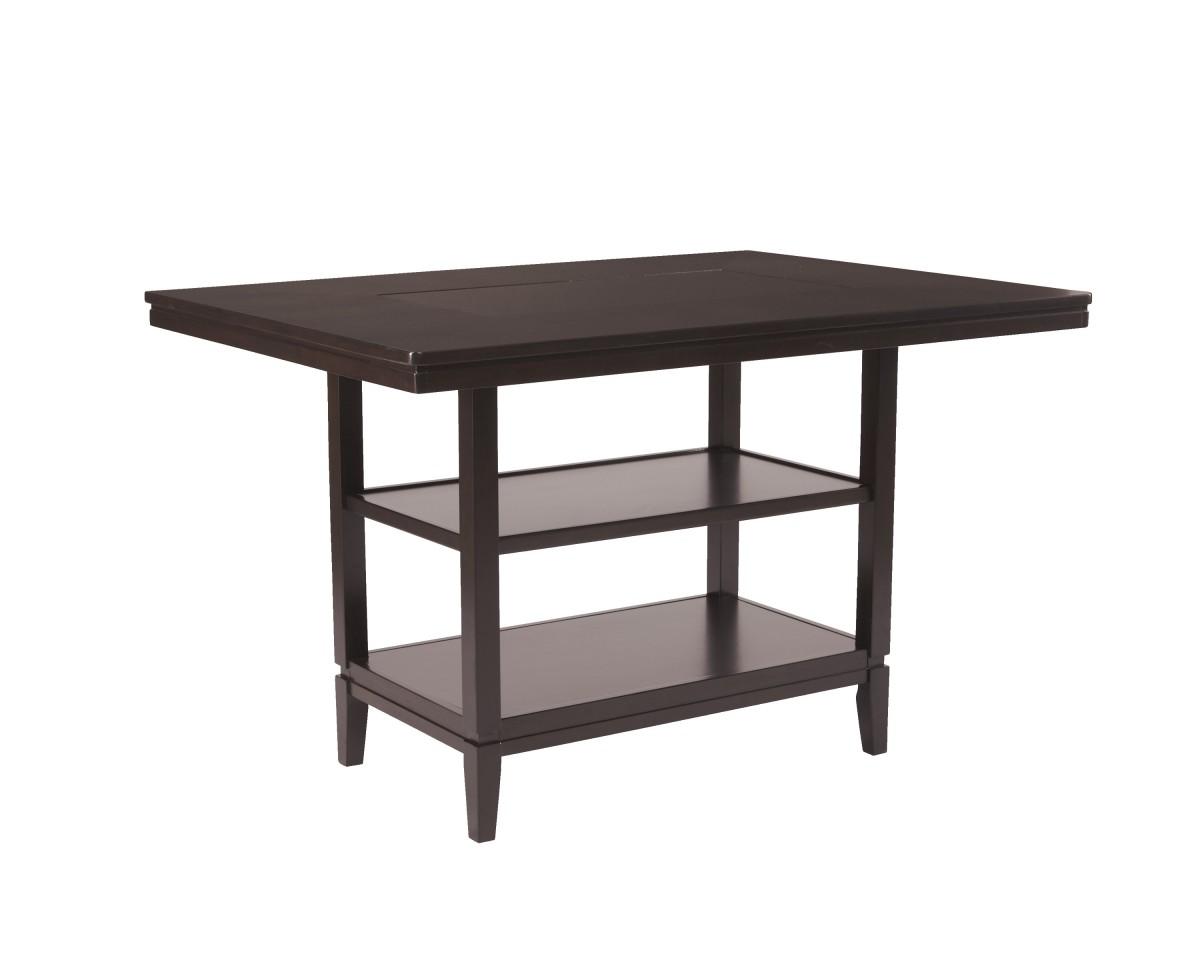 D550 32 Ashley Trishelle RECT Dining Room Counter Table  : D550 32 from www.dewaardandbode.com size 1200 x 960 jpeg 55kB