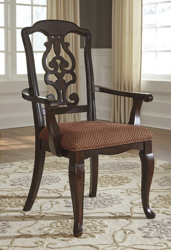 Signature by AshleyGladdenvilleDining UPH Arm Chair (2/CN)