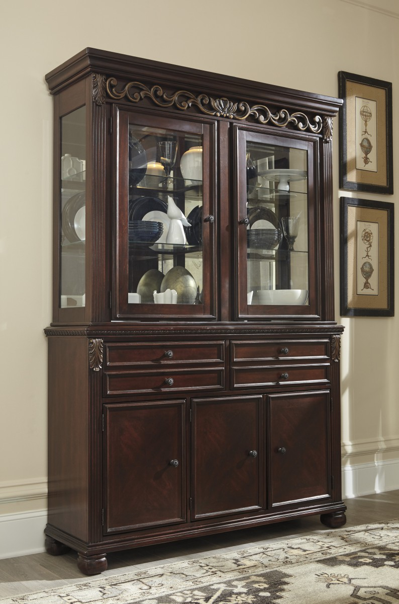 Dining Room Hutches Small Hutch Furniture Room Furniture: D626-81 Signature By Ashley Leahlyn Dining Room Hutch