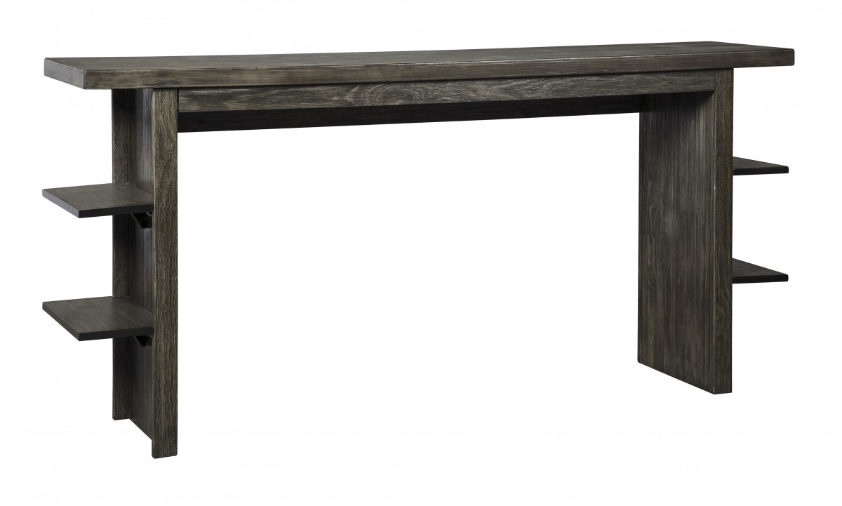 D639 33 Signature By Ashley Lamoille Long Counter Table