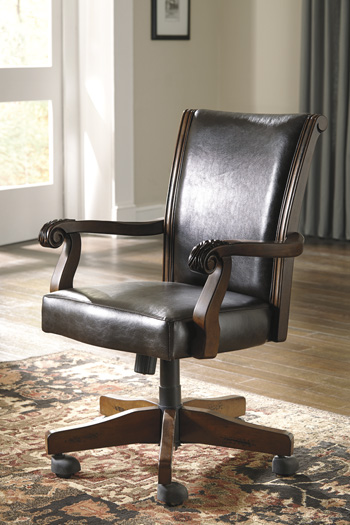 Signature Design by Ashley®AlymereHome Office Swivel Desk Chair