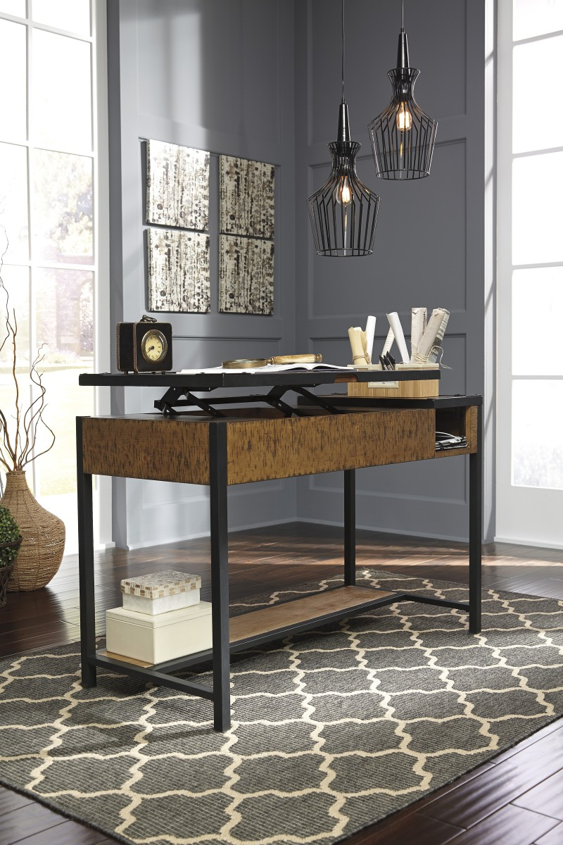 home office desks for two. Signature By AshleyKaleanHome Office Lift Top Desk Home Desks For Two