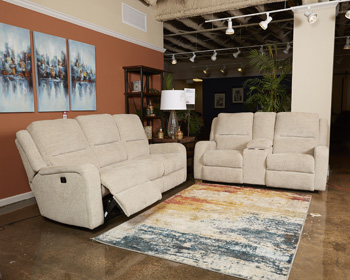 Signature Design by AshleyPWR REC Loveseat/CON/ADJ HDRST